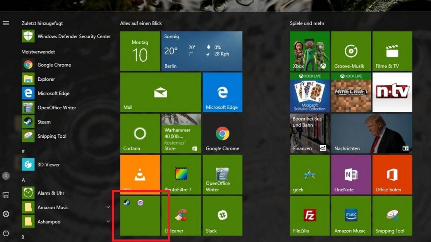 Windows 10 Ordner Start 02