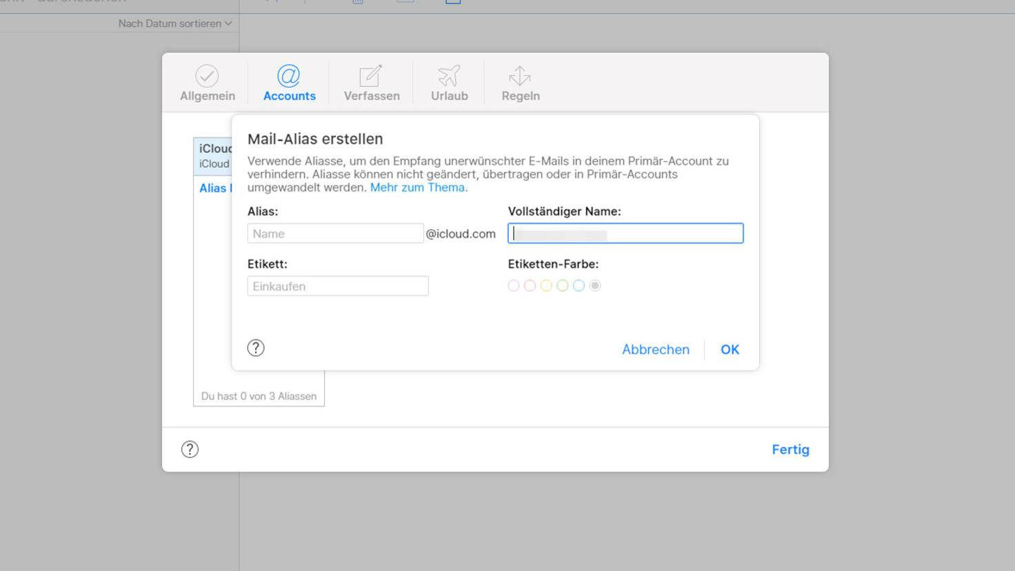 iCloud-Mail