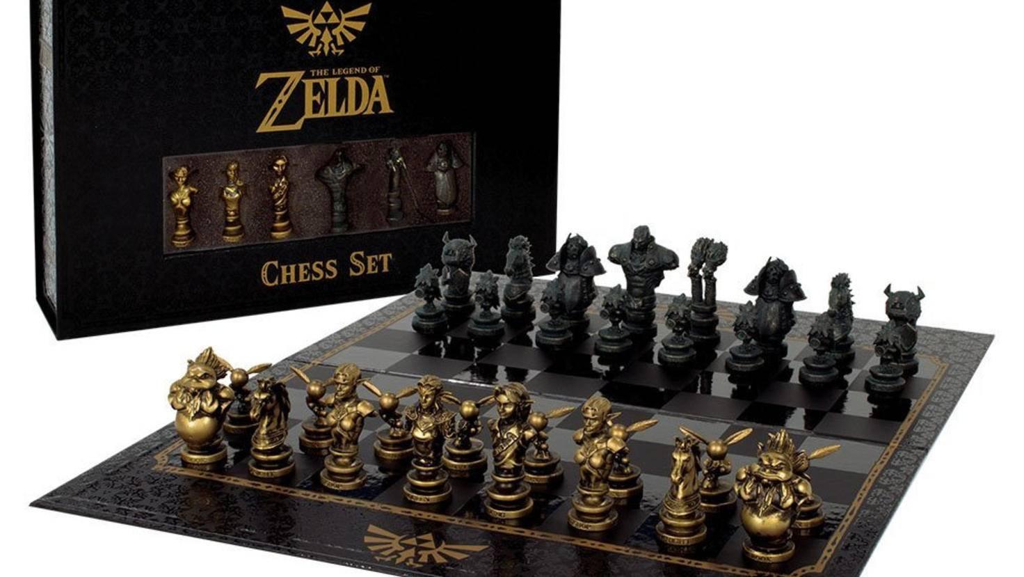 """Das perfekte Geschenk für """"Zelda""""-Fans: ein hübsches Schachspiel mit Link und Co."""