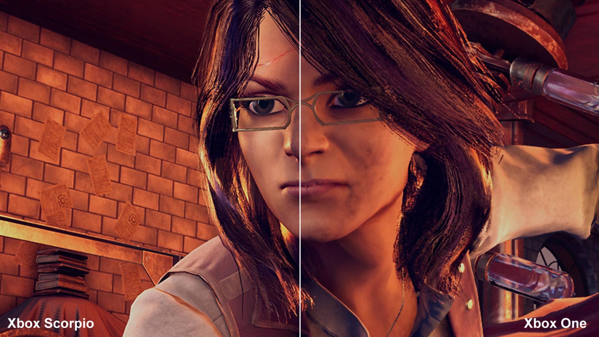 Vergleich Xbox Scorpio vs. Xbox One