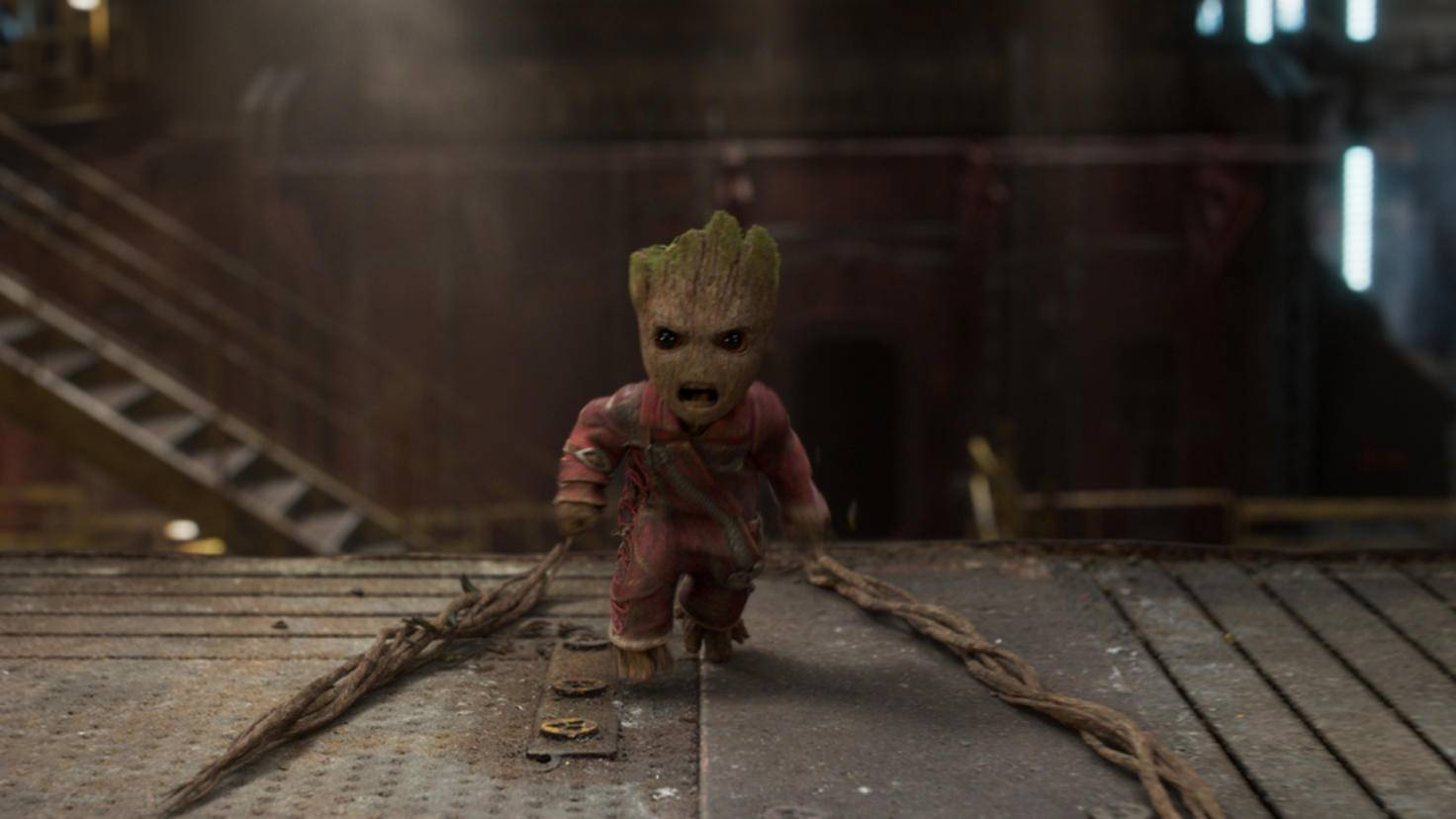 "Baby Groot in ""Guardians of the Galaxy 2"""