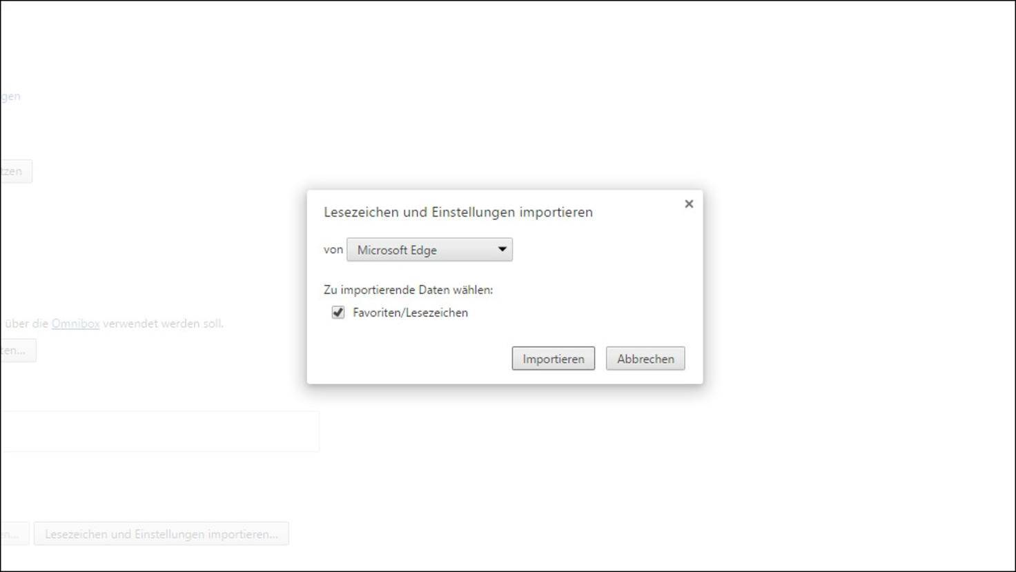 Chrome-Lesezeichen-importieren