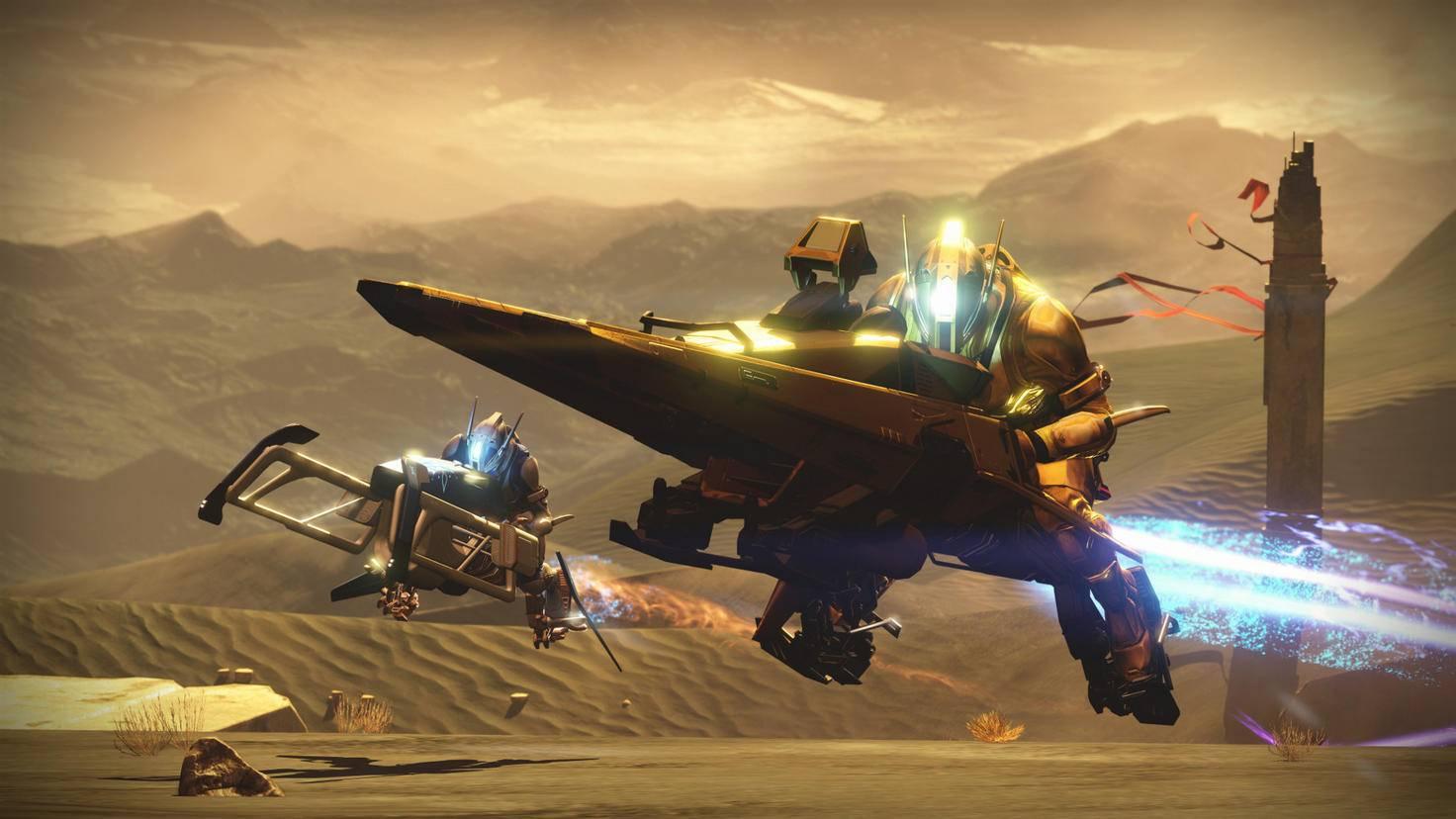 """Die schnellen Sparrows bekomst Du in """"Destiny 2"""" in Lootboxen. Du kannst sie aber auch einfach erspielen."""