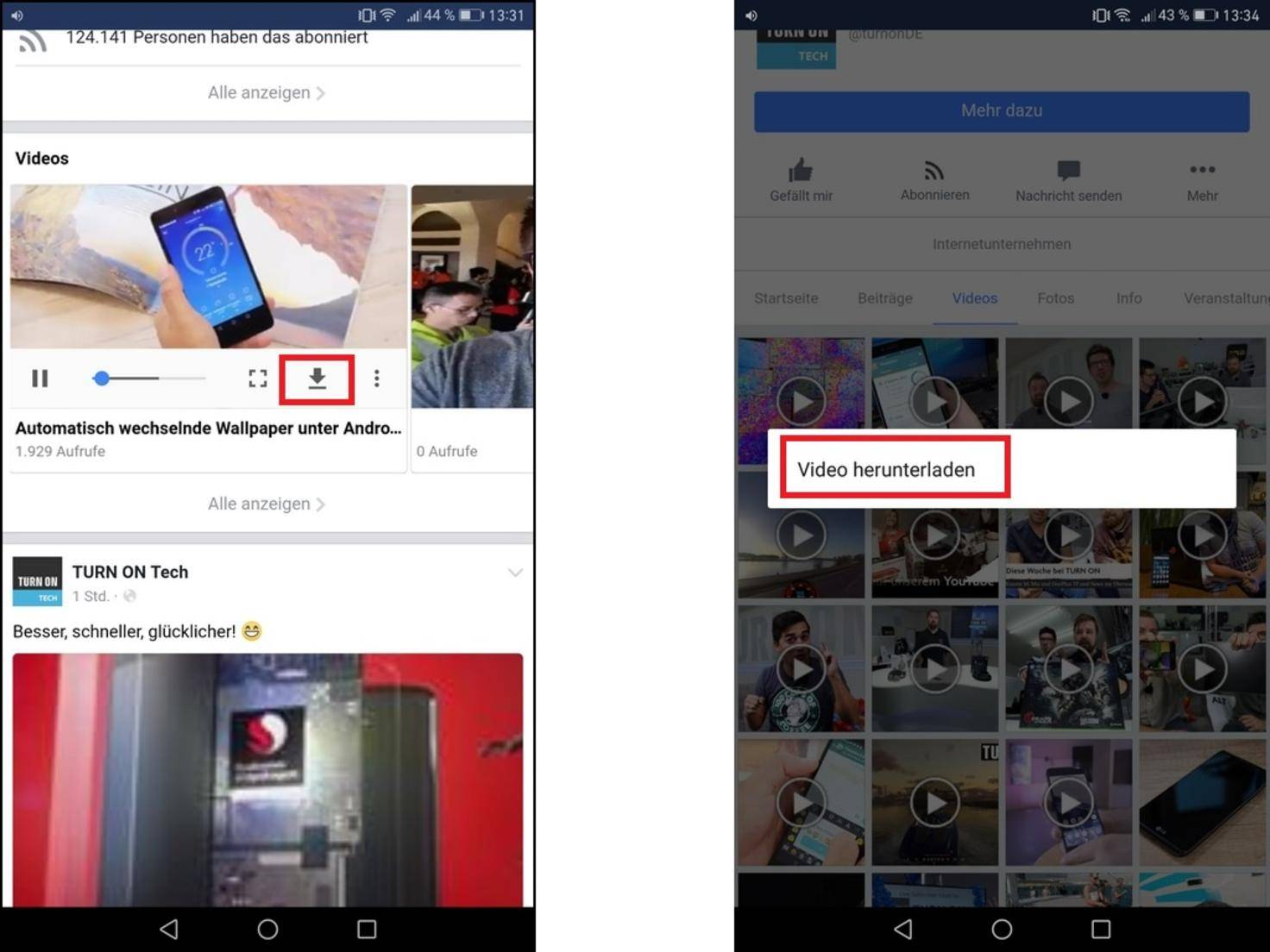 Facebook-Video-Download-Android