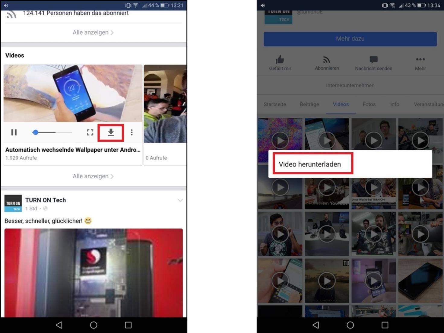 Facebook-Videos downloaden: Herunterladen auf PC, iPhone und