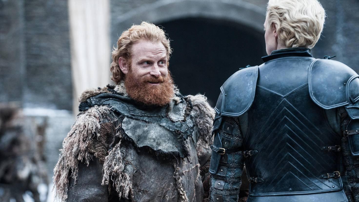 Wir werden wohl in Staffel 8 erfahren, ob es ein Happy End zwischen Tormund und Brienne gibt.