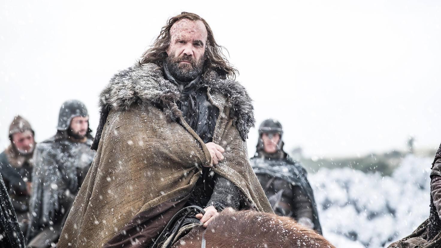 Langsam aber sicher wird Sandor Clegane zum sanftmütigen Riesen.
