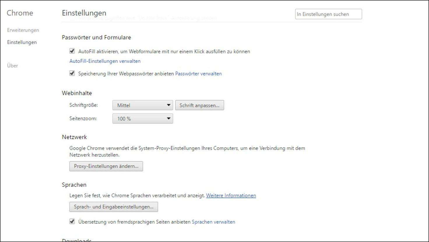 Google-Chrome-Passwörter