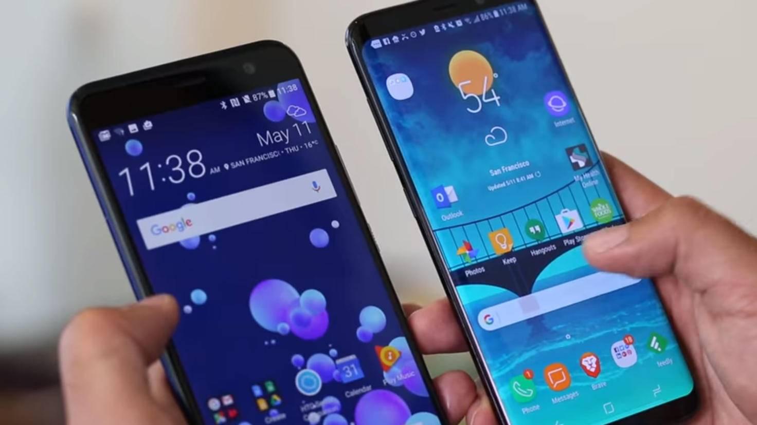 HTC U11 Galaxy S8