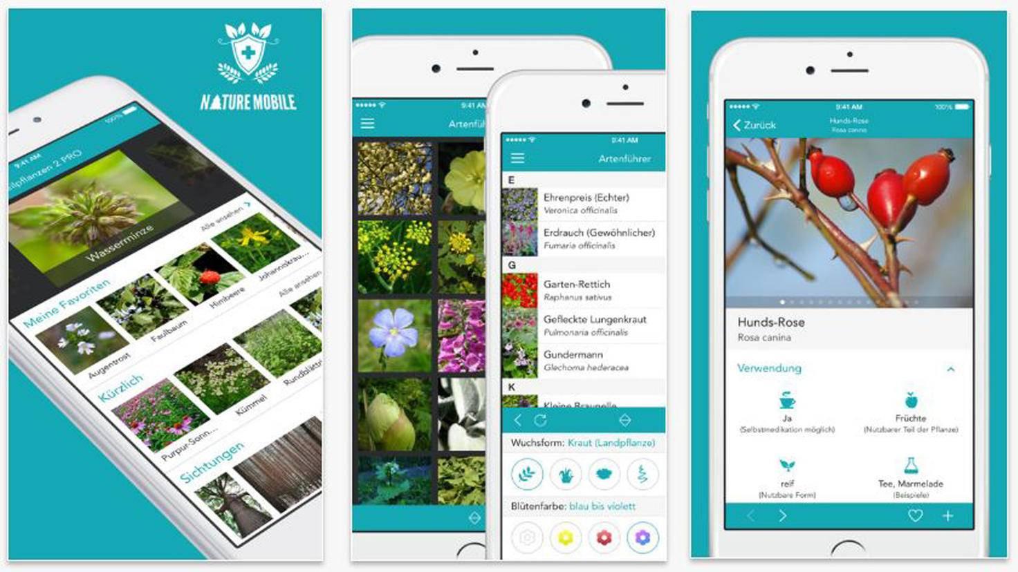 Heilpflanzen 2 Pro - Das Nachschlagewerk-iTunes-Nature Mobile