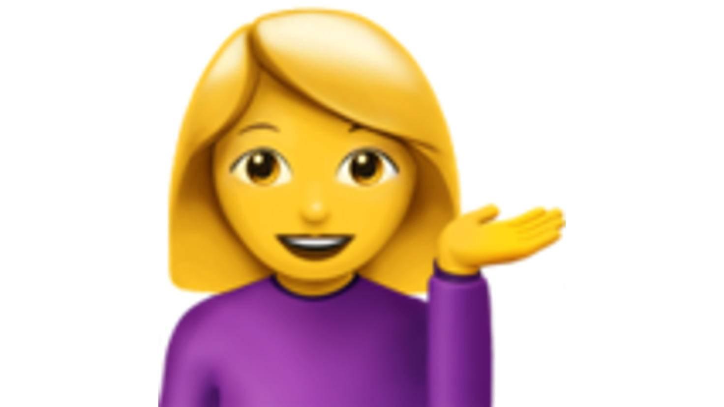 Hilfe-Emoji