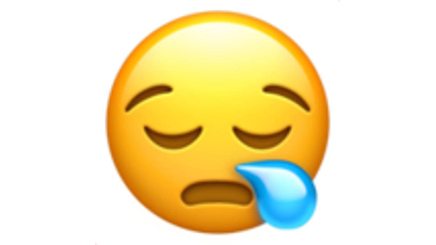 Müde-Emoji