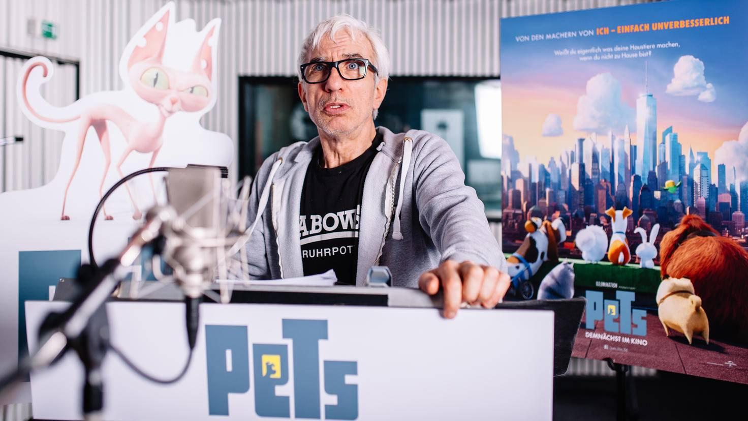 Der deutsche Schauspieler Ralf Richter spricht den Anführer einer Katzengang.