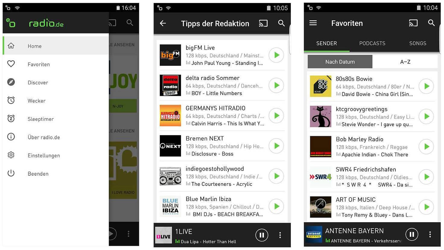 Radio-de-Google Play Store-Radio.de GmbH