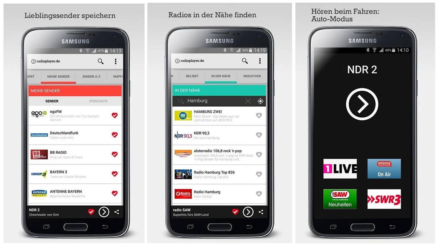 Radio-Apps: 6 kostenlose Möglichkeiten für iOS & Android