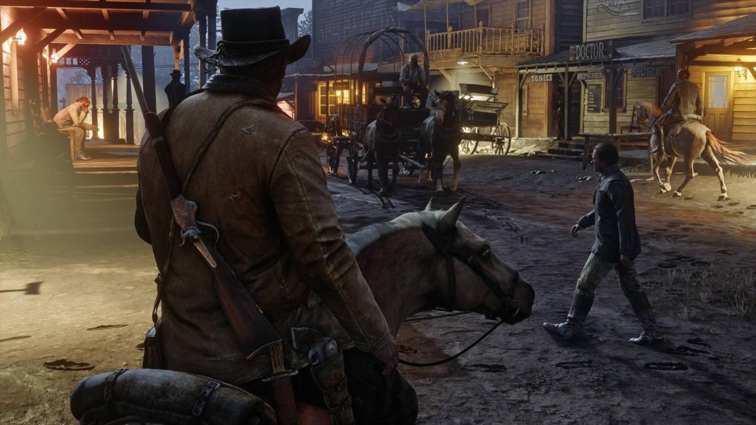 """Die veröffentlichen Screenshots zu """"Red Dead Redemption 2"""" sehen sehr lebendig aus."""