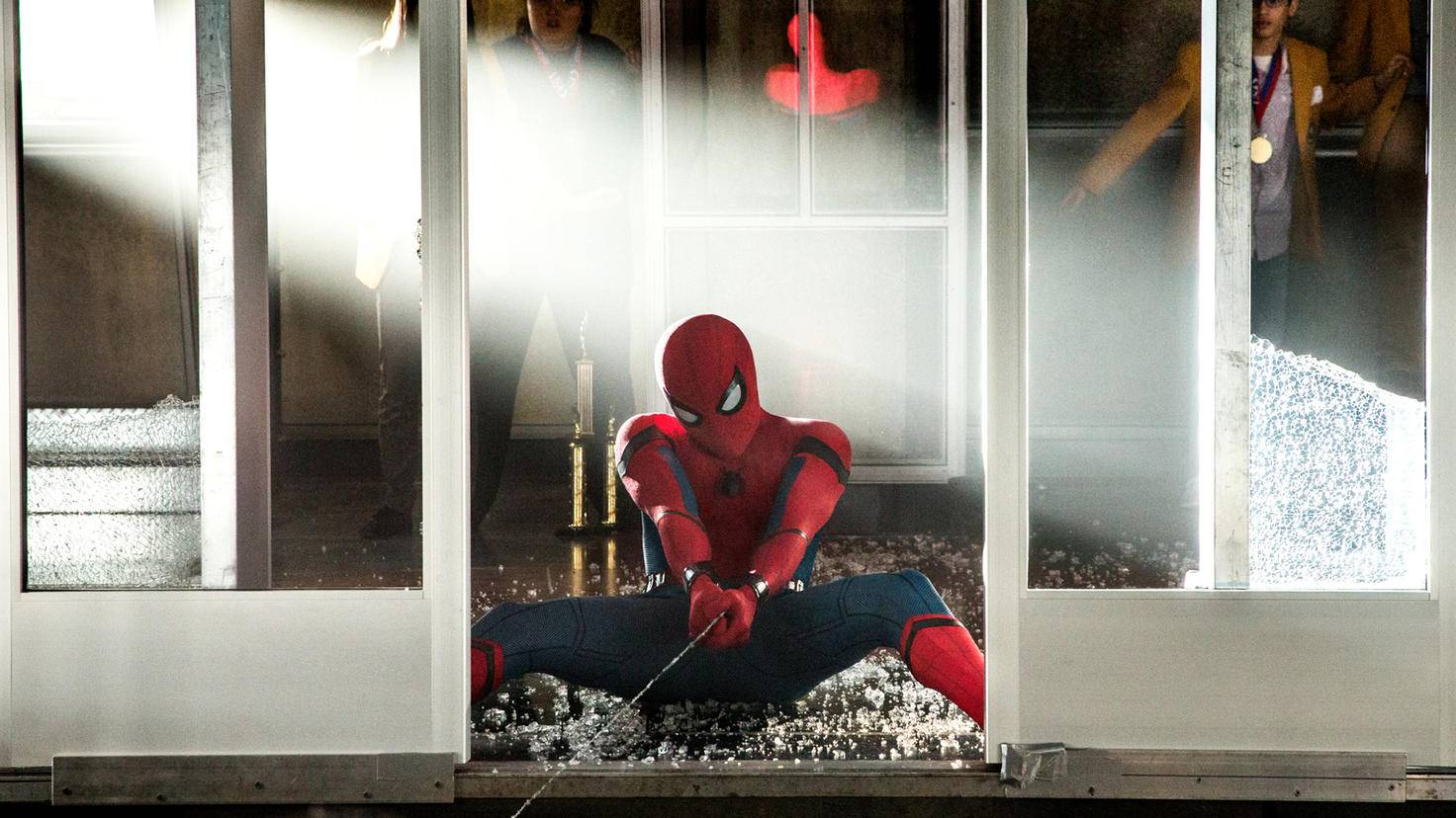 """Spider-Man: Homecoming""-Setfoto"