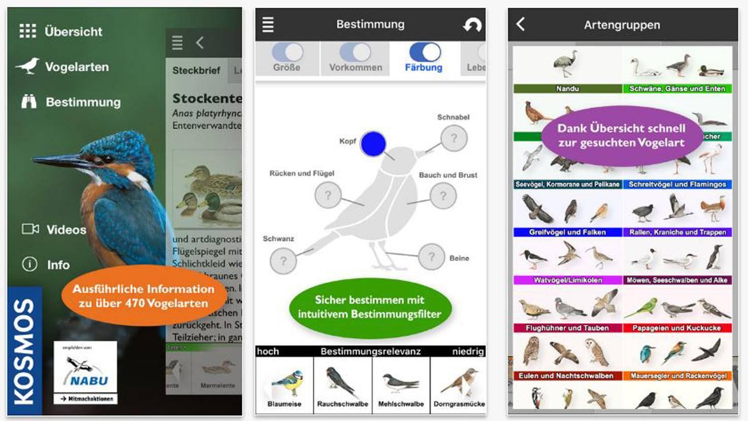 Vögel Europas bestimmen-iTunes-Franckh-Kosmos Verlags-GmbH und Co. KG