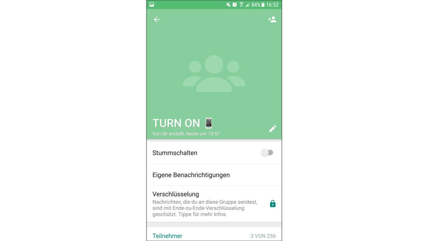 WhatsApp-Gruppen 2
