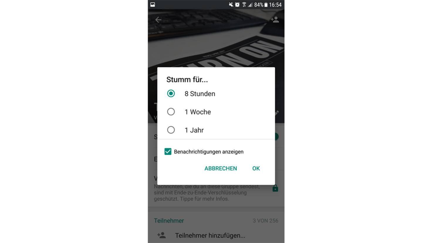 WhatsApp-Gruppen 4