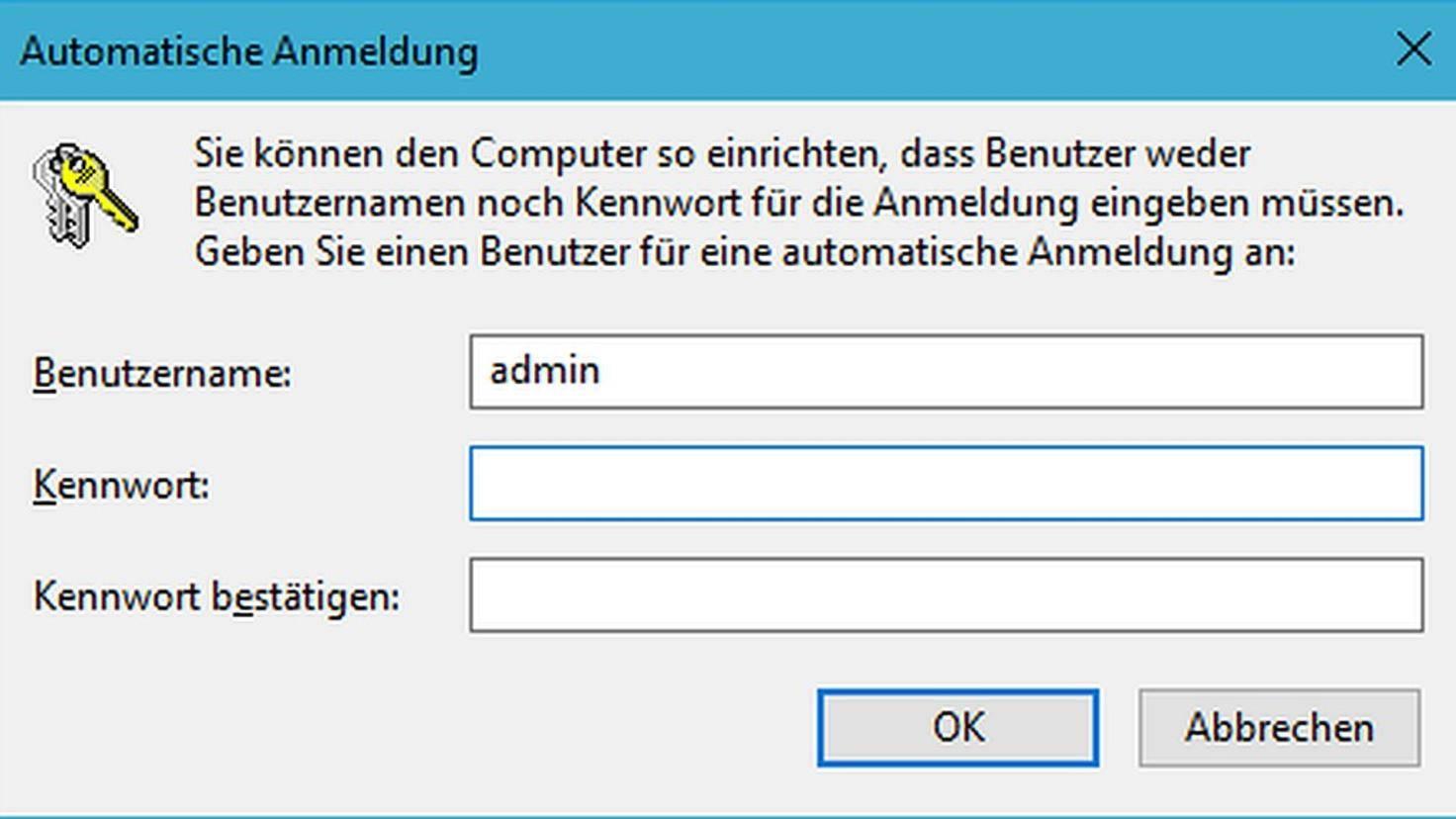 Windows-10-Benutzer-Kennwort-Automatische-Anmeldung