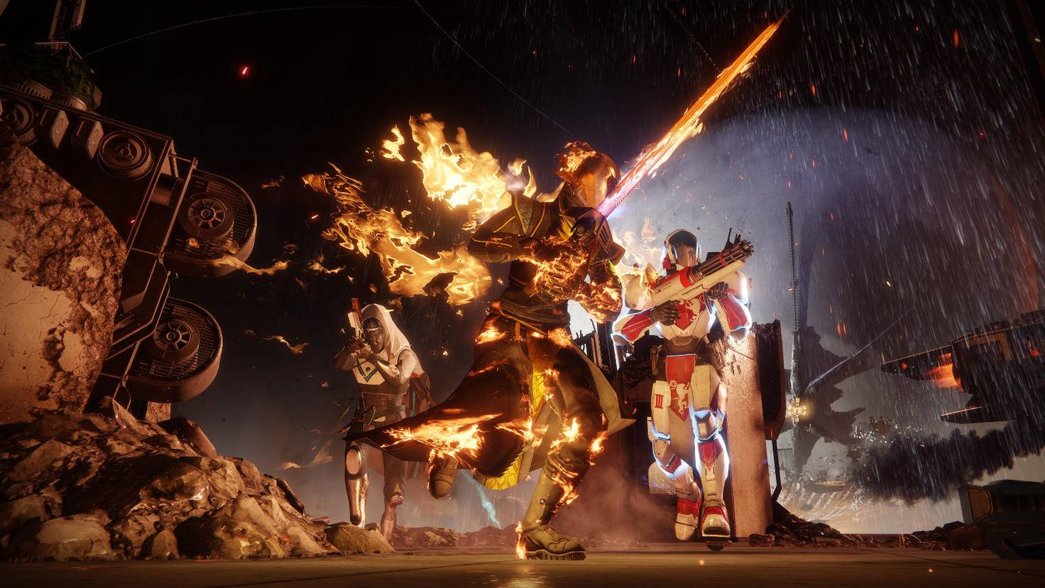 Dämmerklingen-Warlocks sind Feuer und Flamme.
