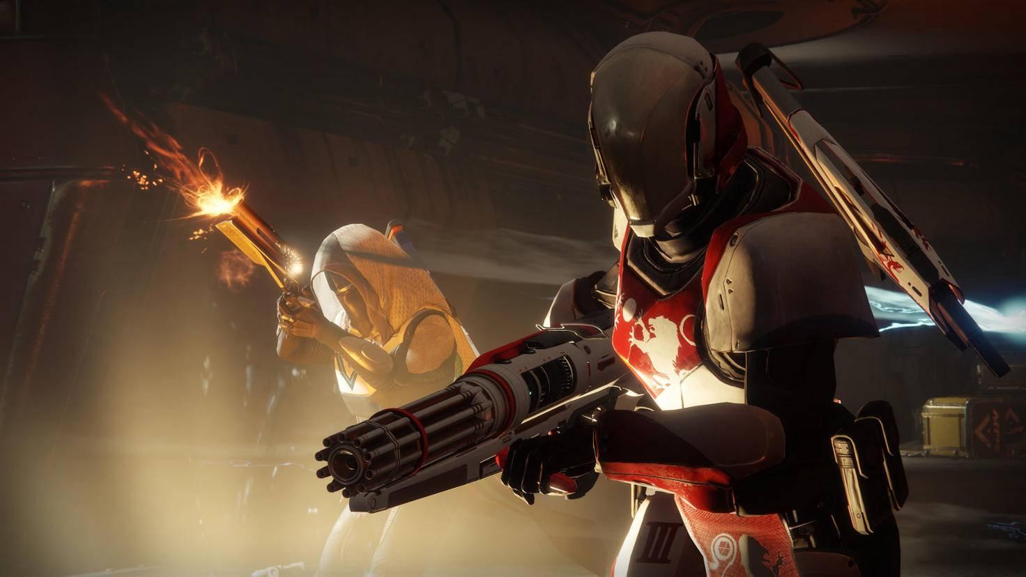 """""""Destiny 2"""" bringt nicht nur neue Waffen wie die Minigun, sondern gleich ein ganz neues Waffensystem."""