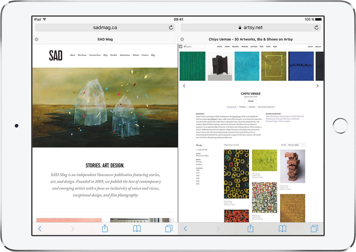 iPad-Safari