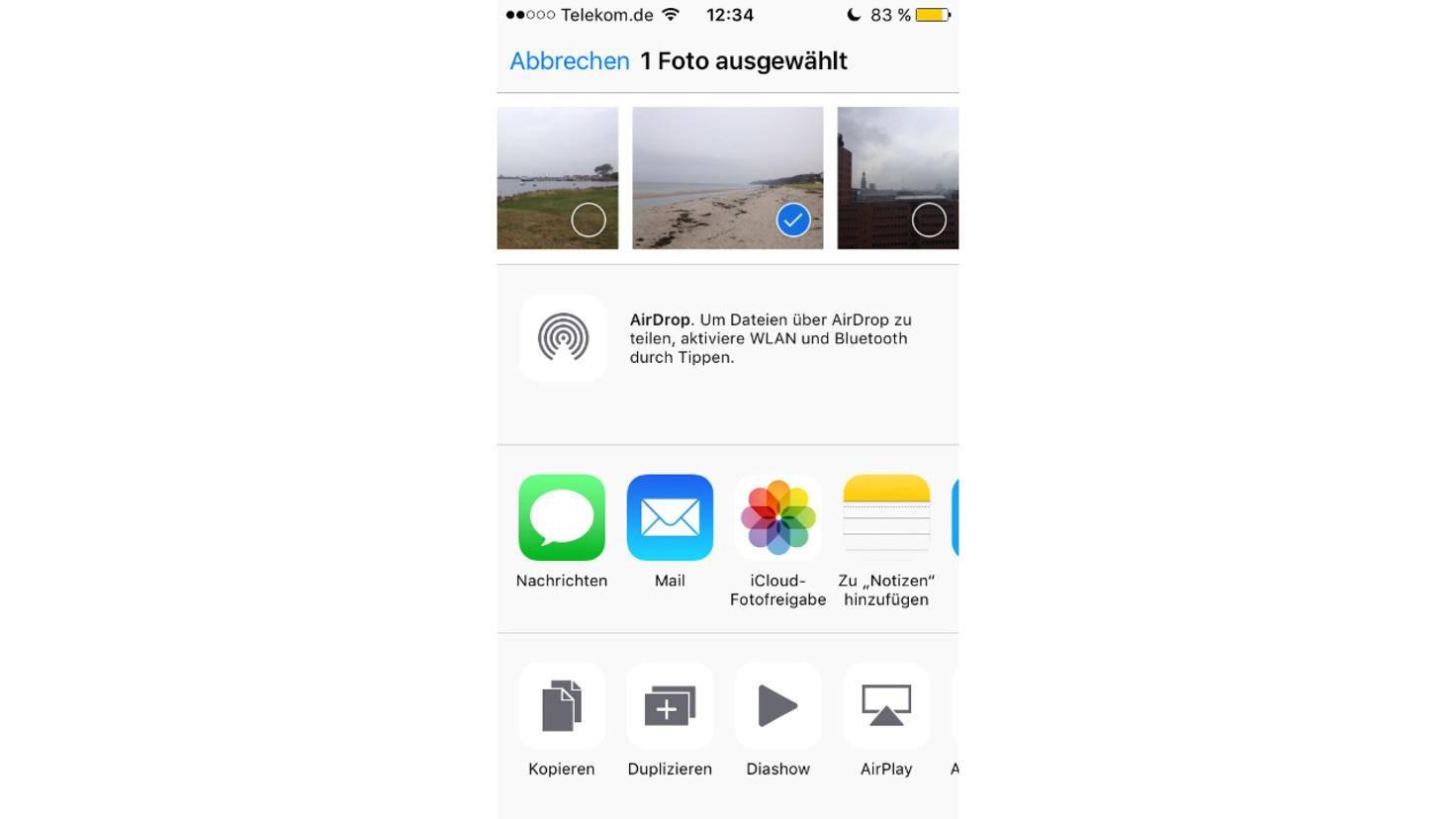 iPhone-Foto-duplizieren