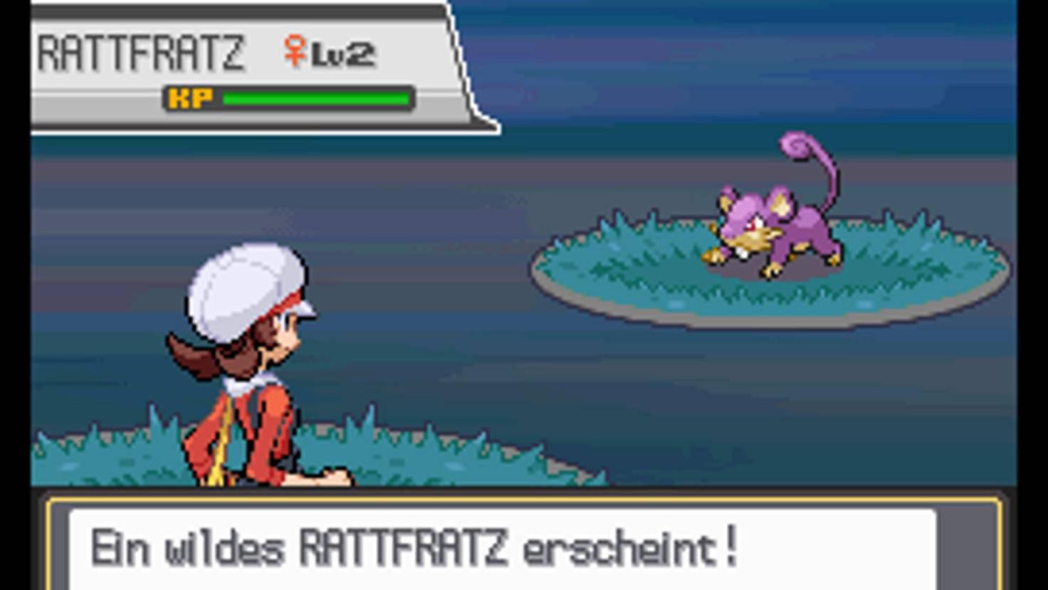 """Dieser Anblick ist Spielern der klassischen """"Pokémon""""-Rollenspiele nur zu vertraut."""