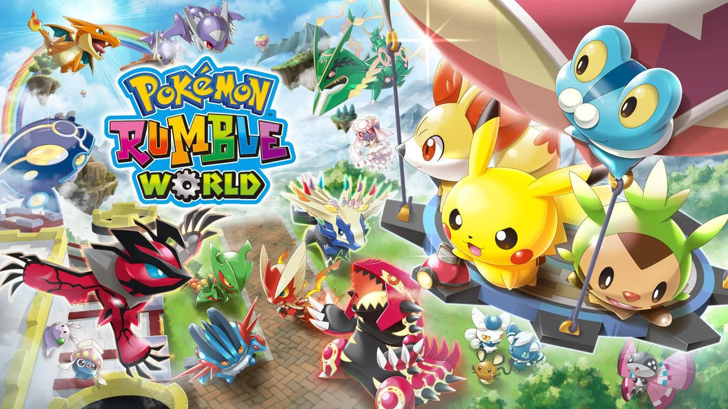 """Kleine Spielzeug-Pokémon sind die Hauptfiguren der """"Pokémon Rumble""""-Reihe."""