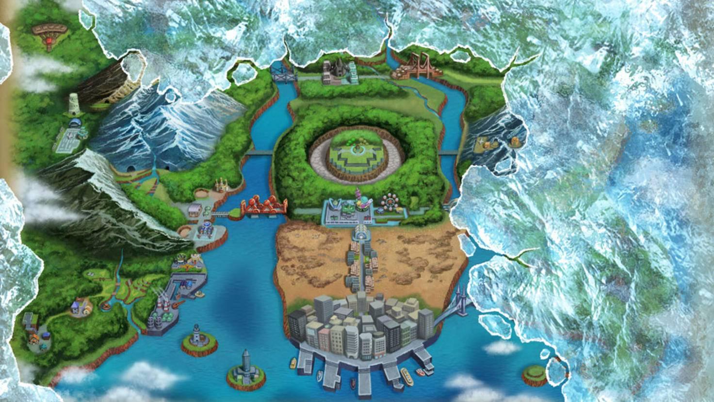 """Jedes neue """"Pokémon""""-Spiel spielt traditionell in einer neuen Region."""