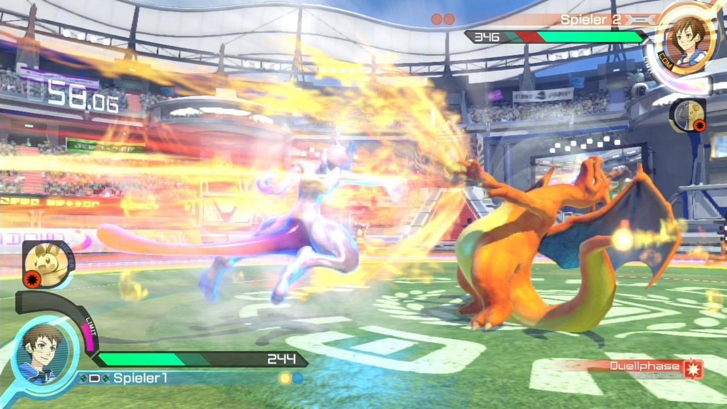 """""""Pokémon Tekken"""" lässt die Monster in 3D-Grafik gegeneinander antreten."""