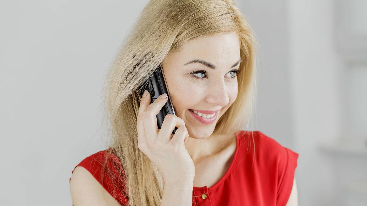 Telefon Frau
