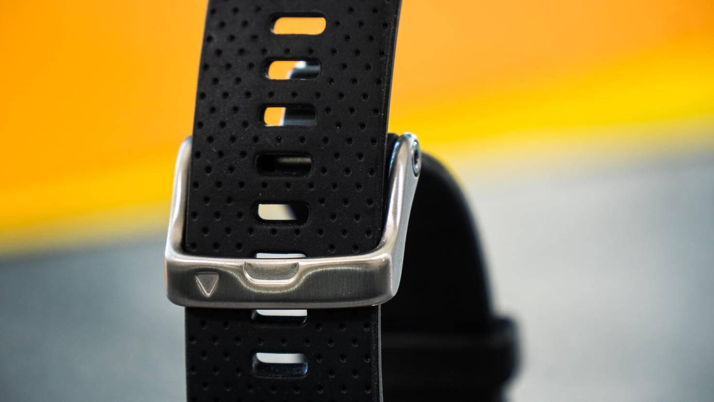 Die klassischen Uhrenarmbänder lassen sich im Nu auswechseln.