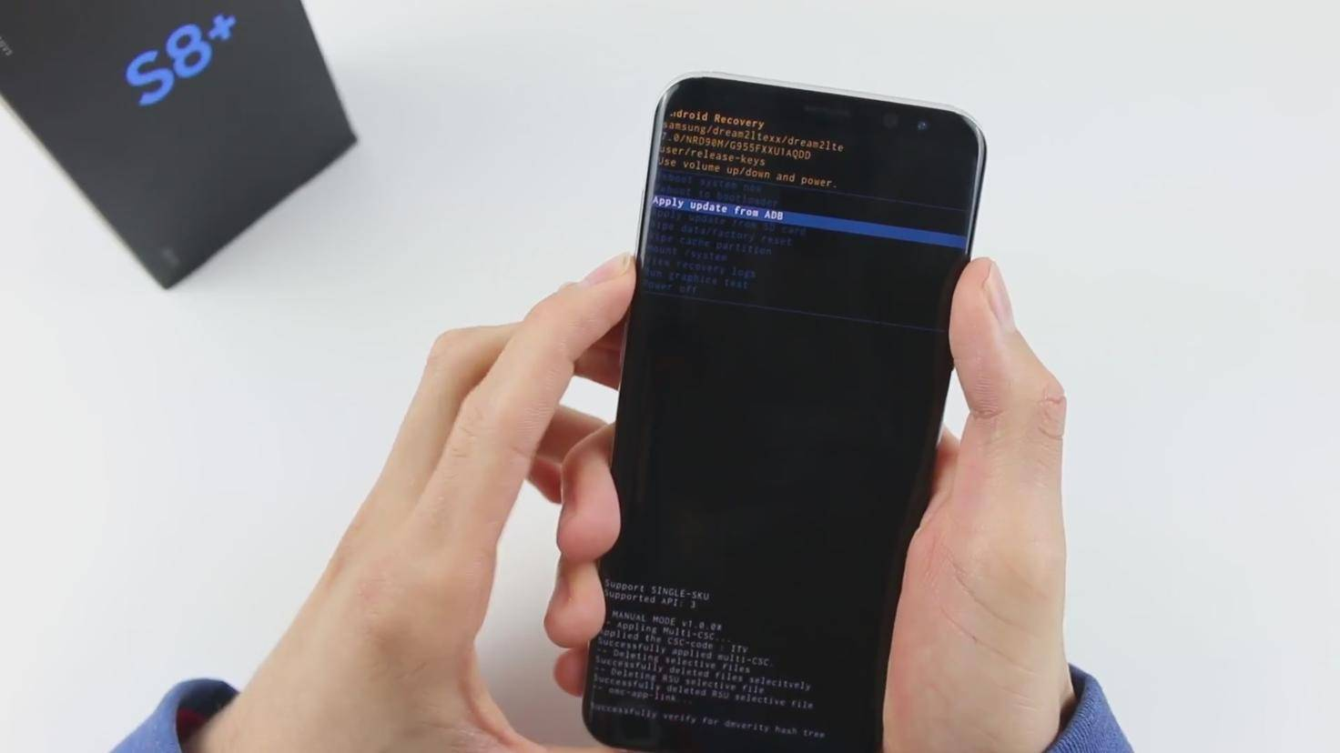 Android-Recovery-Mode-Update-ADB