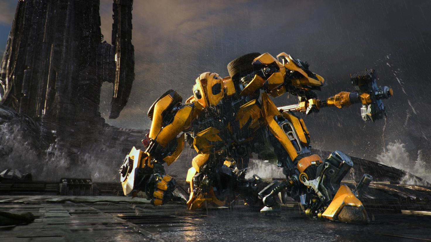 Bumblebee in Action.
