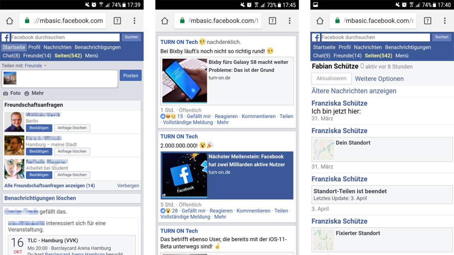 Facebook Messenger umgehen 2