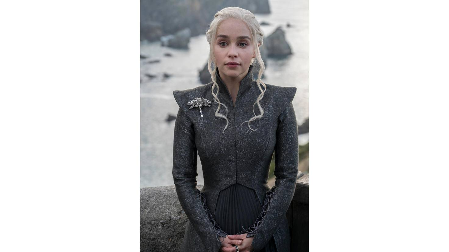 ... Daenerys Targaryen macht immer eine gute Figur ...