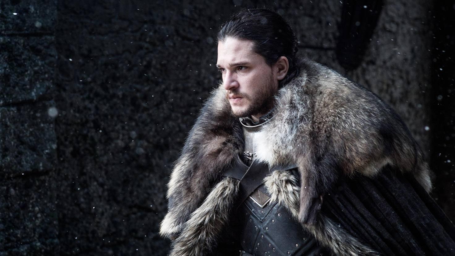 Eine ernste Mine herrscht auch bei Jon Snow, dem König des Nordens.