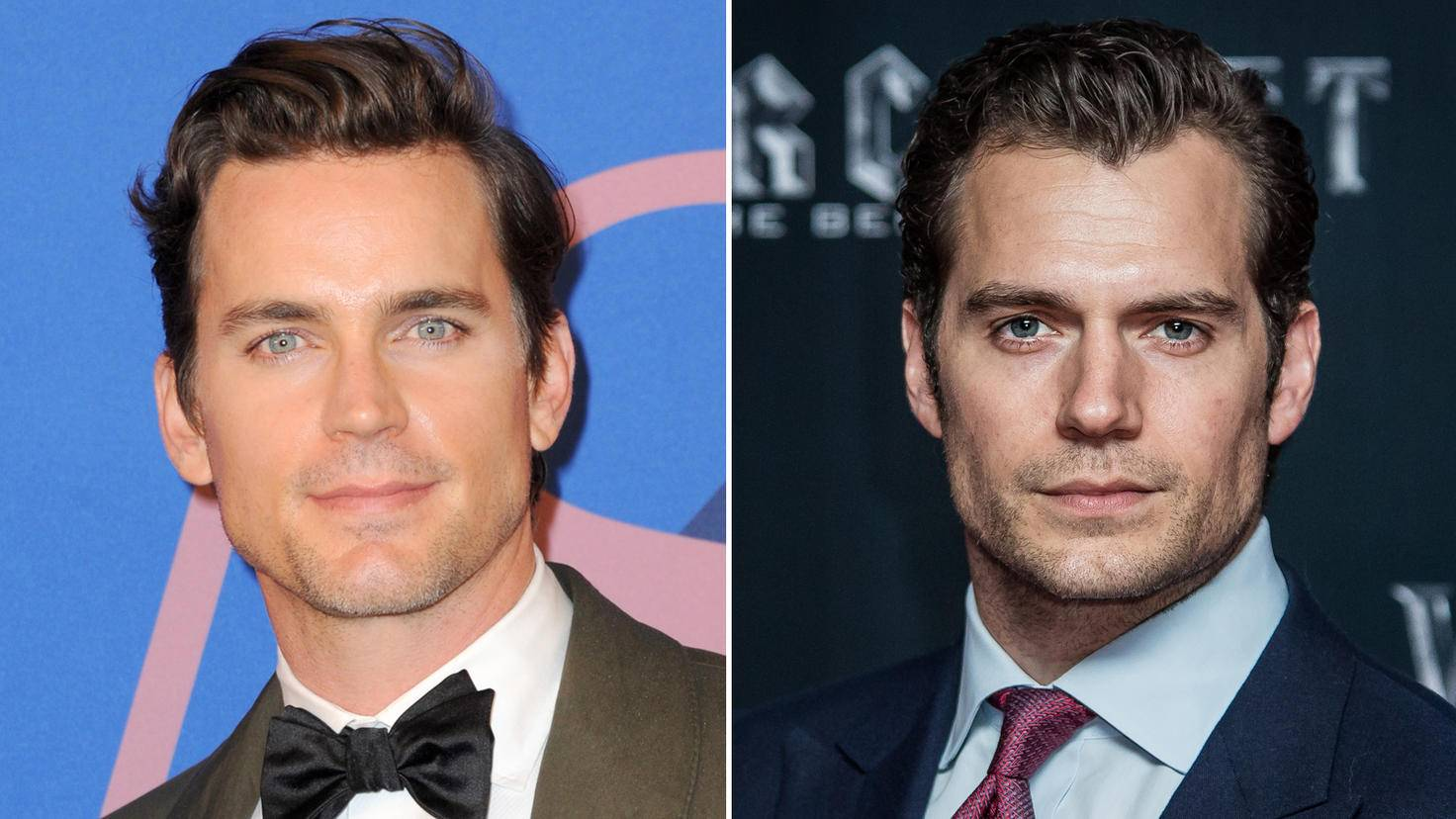 Beide waren schon mal Superman: Matt Bomer (l.) und Henry Cavill (r.).