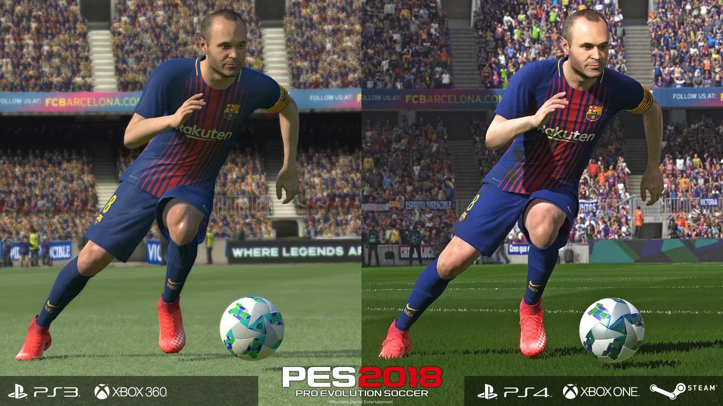 PES 2018: PC-Vergleich