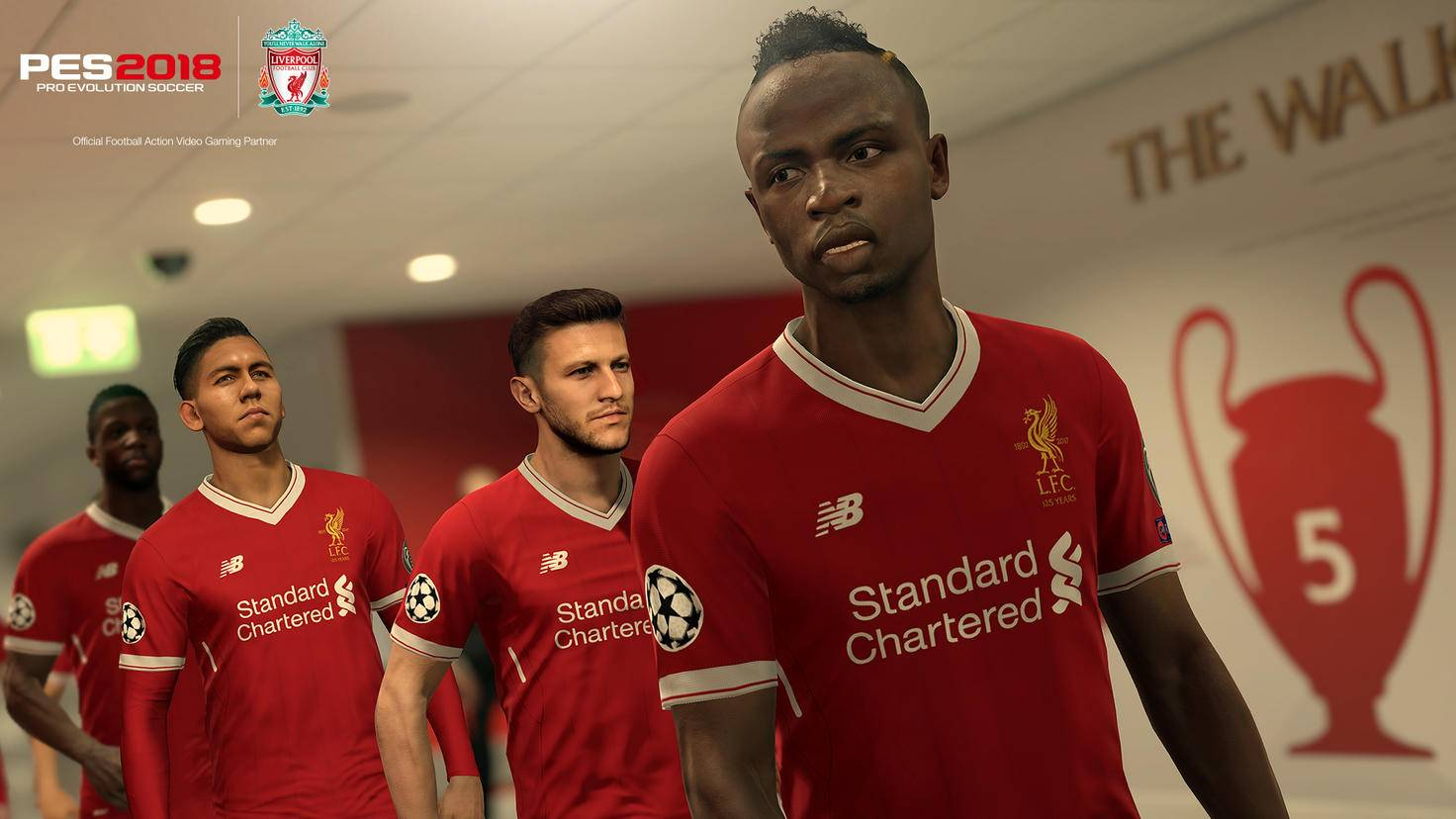 PES2018: Liverpool Anfield-Tunnel