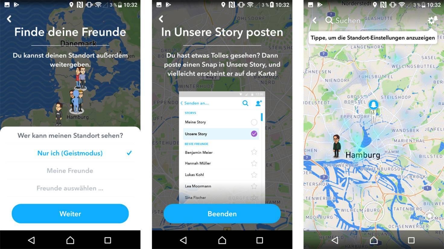 Snapchat Karte.So Nutzt Du Die Neue Snap Map In Snapchat Eine Anleitung