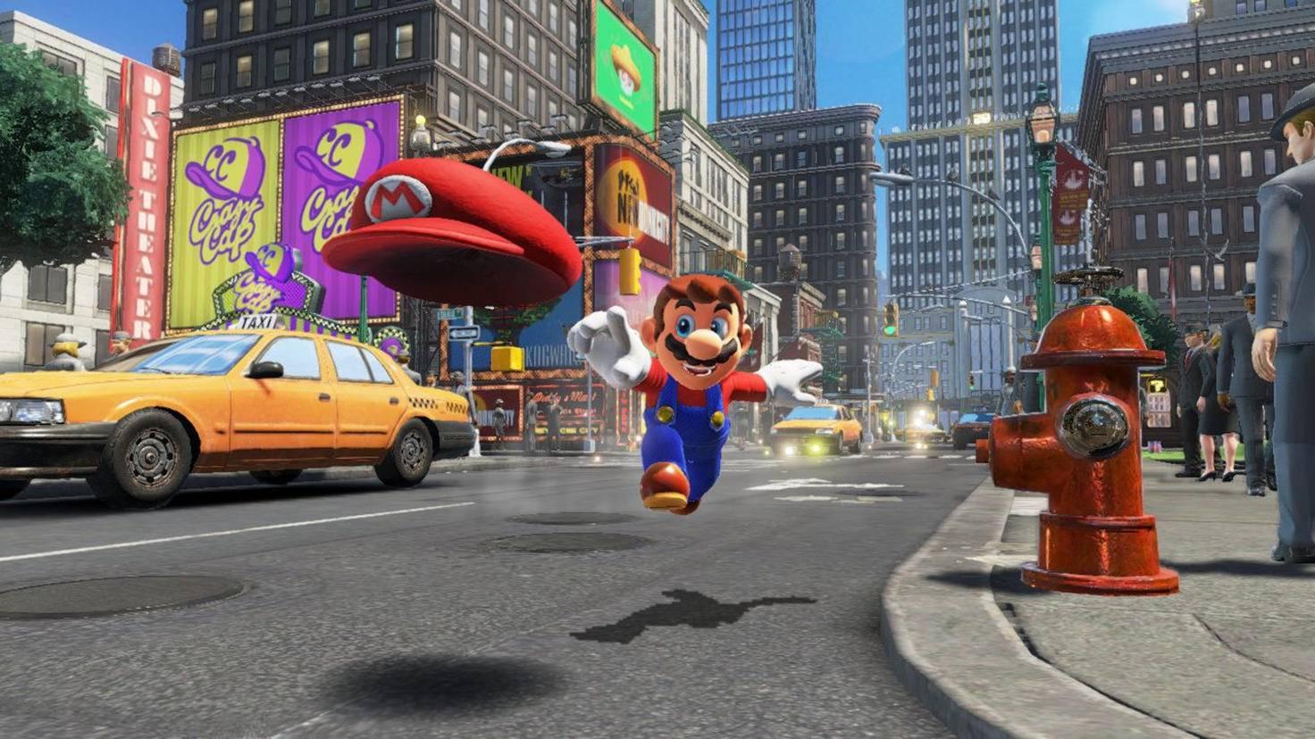 Super Mario Odyssey E3 2017 Screenshot