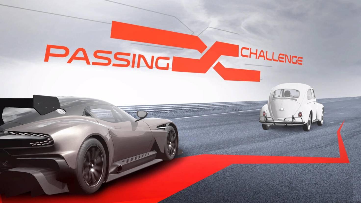 Neben Rennserien bieten auch Events wie diese Überhol-Herausforderung Abwechslung.