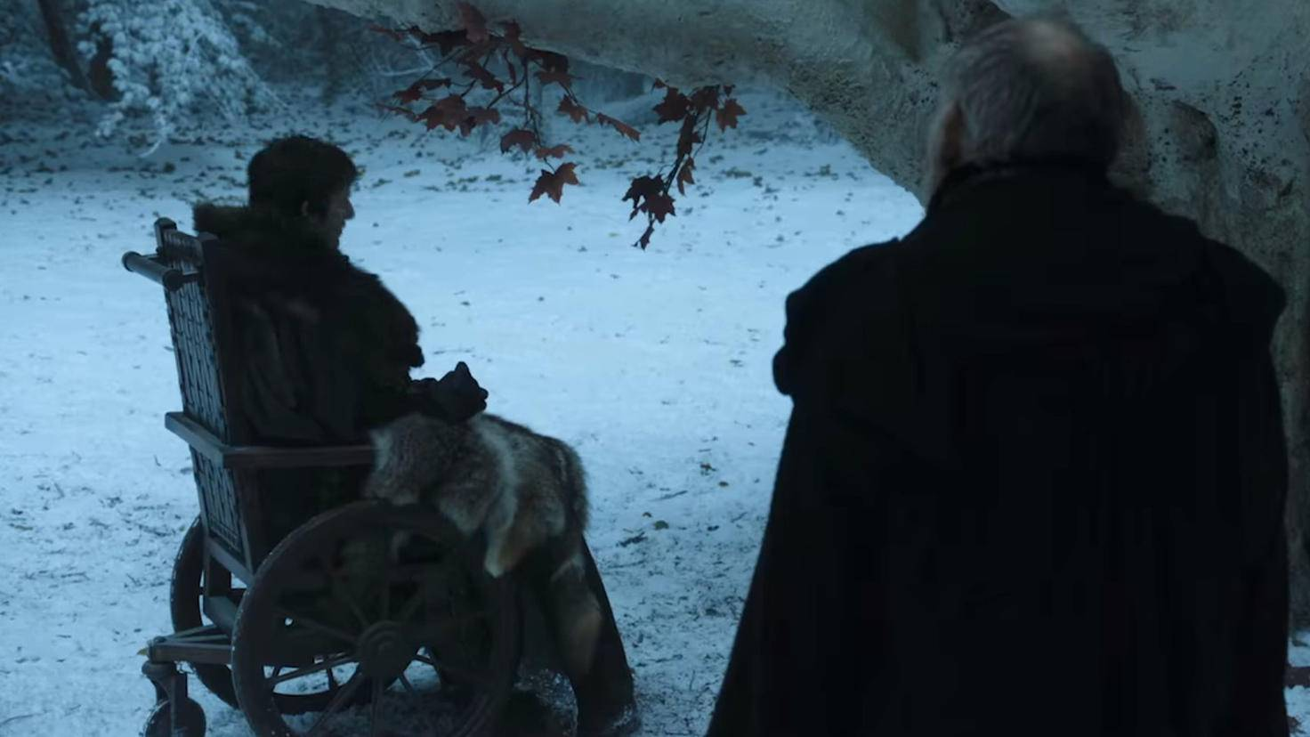 Zurück inn Winterfell? Bran Stark im mechanischen Hodor-Ersatz.