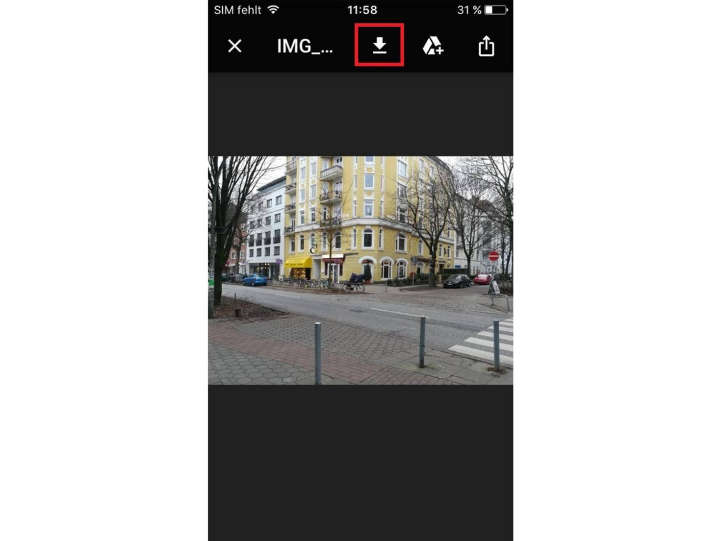 iPhone-Gmail-Foto-Speichern-01