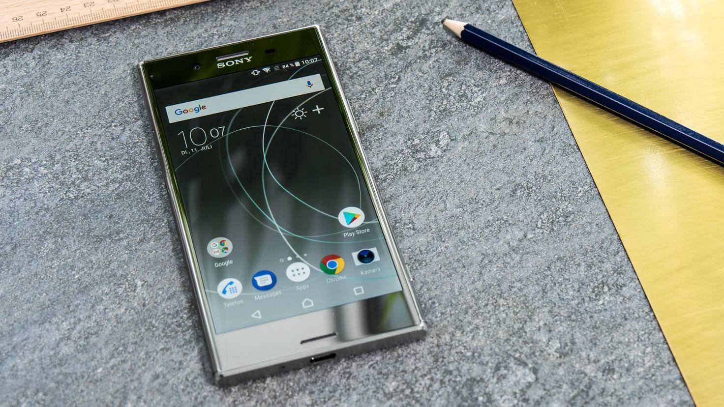 Vorinstalliert ist Android 7.1.1 Nougat.