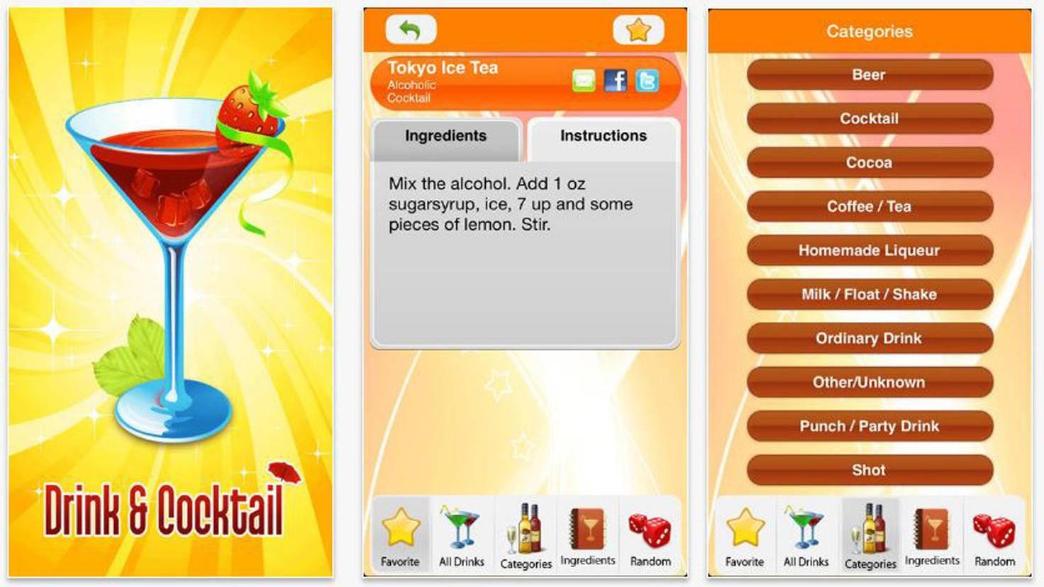 8500+ Drink und Cocktail Recipes Free-iTunes-Webworks